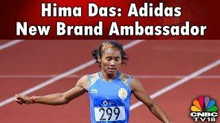Hima Das: Adidas New Brand Ambassador   Reporter's Diary   CNBC-TV18