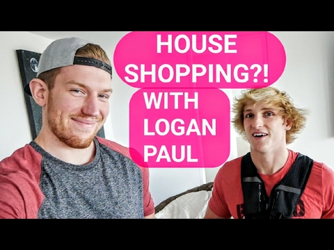 HOUSE SHOPPING WITH LOGAN PAUL!! WE GOT WHAT?!
