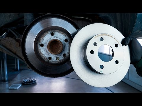 Opel Zafira B Bremsscheiben und Beläge hinten wechseln