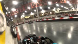 preview picture of video 'Eupener Karting *New track* Charity event 19.09.2014 Final Four first run'