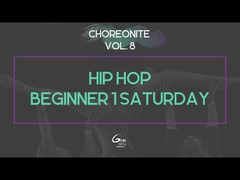 Hip Hop Beginner 1 Saturday || Choreonite Vol. 8 | Gigi Art of Dance