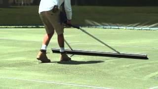 Tennis Court Broom - 2 m video