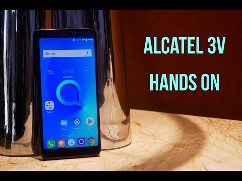 Alcatel 3V Hands On