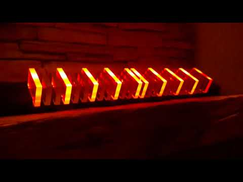 Perspex Clear Acrylic WS2812 LED Audio Interactive Light Bar