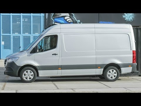 2019 Mercedes Sprinter 319 CDI Panel Van - Maximum Modularity for All Customer Wishes