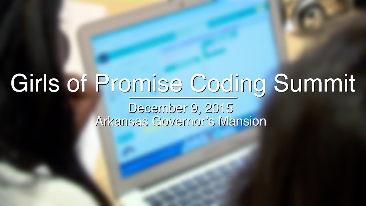 Girls of Promise Coding Summit @ the Governor's Mansion