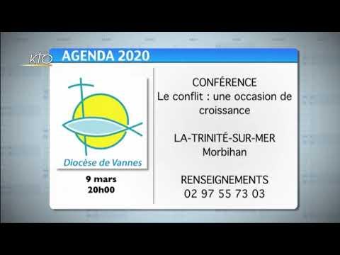 Agenda du 2 mars 2020