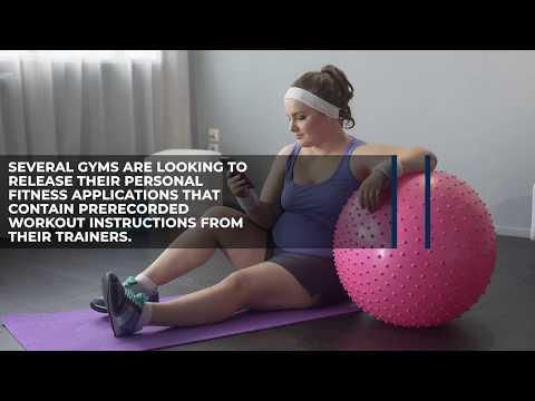 Virtual Gyms Becoming Increasingly Popular
