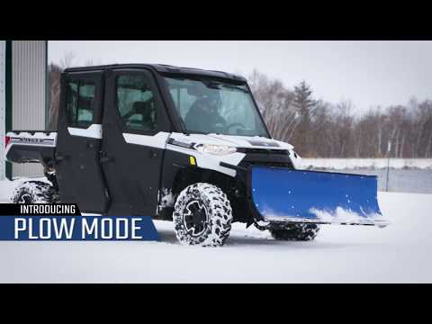 2021 Polaris Ranger Crew XP 1000 Premium + Ride Command Package in Caroline, Wisconsin - Video 2