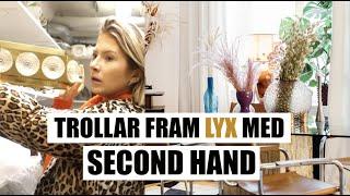 Shoppar & Stylar Lägenheten Med Second Hand Inredning 😍