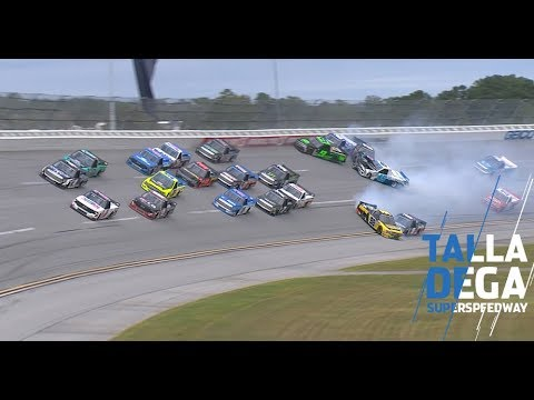 The 'Big One' strikes playoff drivers late at Talladega