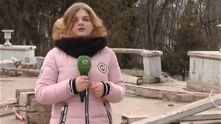 В саду Шевченко начались работы по реконструкции Каскада