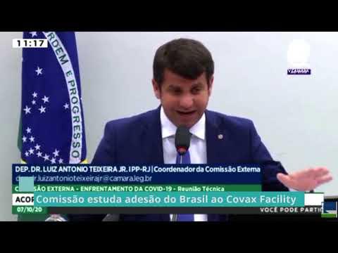 Comissão estuda adesão do Brasil ao Covax Facility – 07/10/20