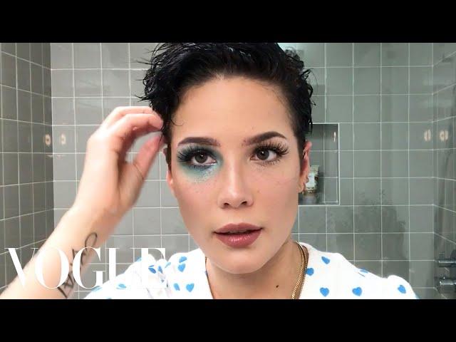"Halsey's ""Manic"" Makeup Tutorial   Beauty Secrets   Vogue"