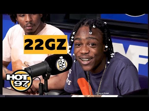 22Gz Talks to HipHop Mike About New Music on HOT97
