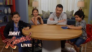 Kids Teach Jimmy Kimmel About Fart Apps