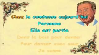 Charles Trenet Je chante karaoké Joseph BULLA