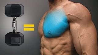 The BEST Dumbbell Exercises - CHEST EDITION!