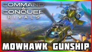 Command And Conquer Rivals   Mohawk Gunship