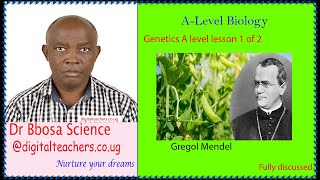 Genetics lesson 1of 2 (A-level)