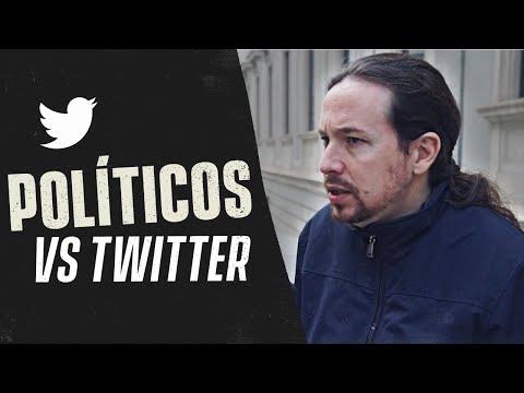 POLÍTICOS CONTRA TWITTER
