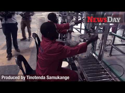 Chiwenga opens Splash paints's new plant