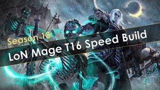 Diablo 3 S18 LoD Necromancer Singularity Mages T16 Speeds