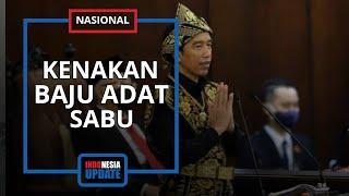 Potret Presiden Jokowi Pakai Baju Adat NTT saat Sidang Tahunan MPR, Tampak Berbeda dari Seluruh Tamu