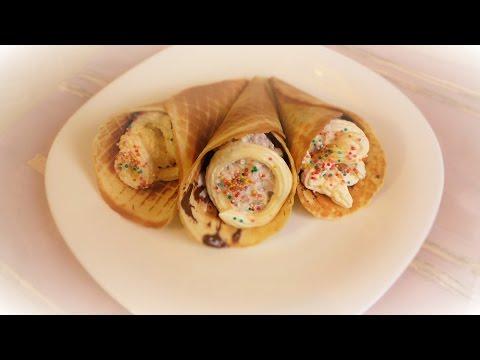 Вафельные рожки  и трубочки на фруктозе с кремом\ wafer cones and tubules with butter cream