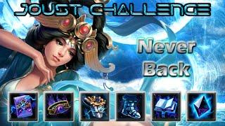 Smite - Joust 1v1 Challenge #3 - Chang'e Never Backing Challenge