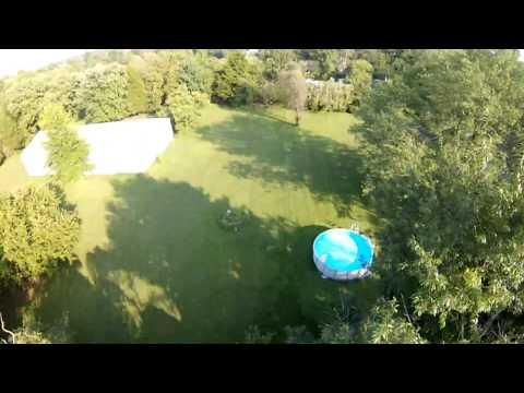 testing-out-new-ibcrazy-crosshair-antenna-in-backyard