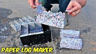 4 in 1 Paper Fire Log Maker