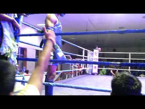 Prosenjit Manna Muay Thai fight