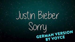 JUSTIN BIEBER  - SORRY (GERMAN VERSION)