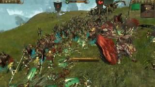 MASSIVE BATTLE 7200 Undead vs. 1500 Elves (Total War Warhammer)