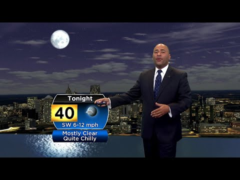 Saturday, Oct. 12 evening weather forecast