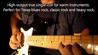 Seymour Duncan SSL-1 Vintage Staggered Strat Video