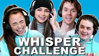 The Whisper Challenge - Merrell Twins ft. Webb Brothers