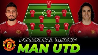 HOW MANCHESTER UNITED COULD LINE UP NEXT SEASON 2020/21 with CAVANI & TELLES