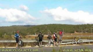 preview picture of video 'Mountain biking. Israel.  Beit Shemesh - Reserve Nahal Dolev.'
