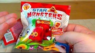 STAR MONSTERS - Пакетики сюрприз - Монстрики - Секретная закупка (Распакуйка)