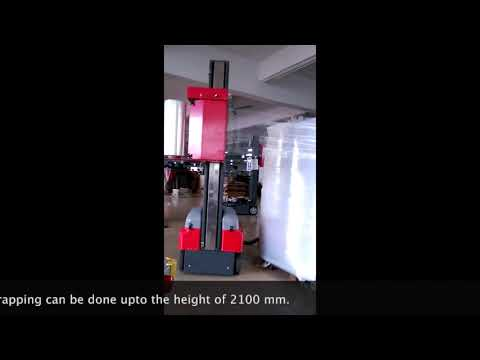 Robot Pallet Stretch Wrapping Machine