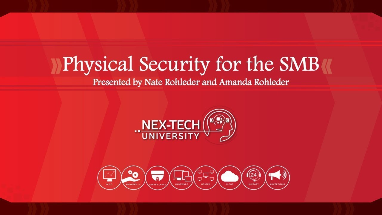 Physical Security for the SMB