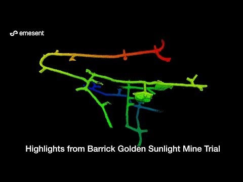 Emesent Golden Sunlight Mine Trial Overview