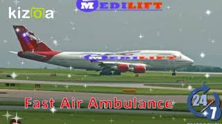 Pick Fast Air Ambulance Services in Kolkata with ICU Setup