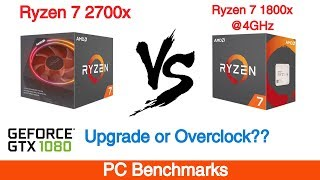 Ryzen 7 2700x vs Ryzen 7 1800X overclock - Free video search