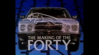 The Making of the FORTY - Jaguar XJ40 - BBC TV 1986