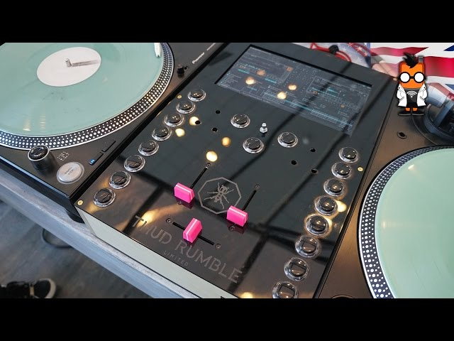 Thud Rumble's Mixer for DJs Gets rid of the Laptop