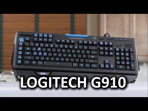 Logitech G910 Gaming Mechanical Keyboard - Romer-G Switches