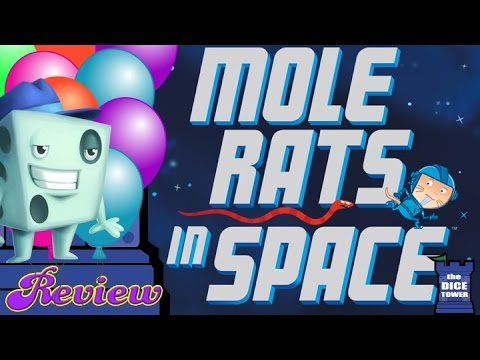 Mole Rats in Space Review - with Tom Vasel